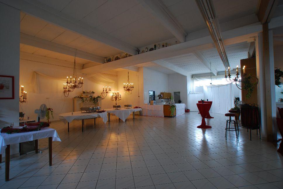 Foyer und die Küche