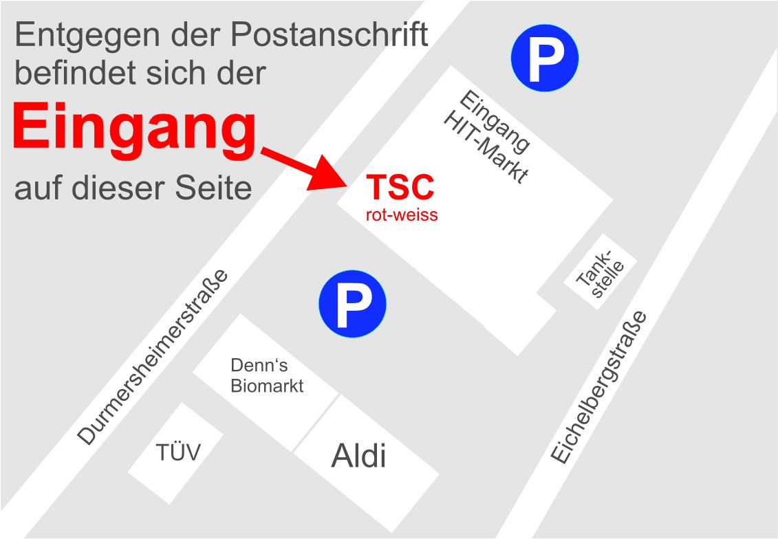 Eingang TSC