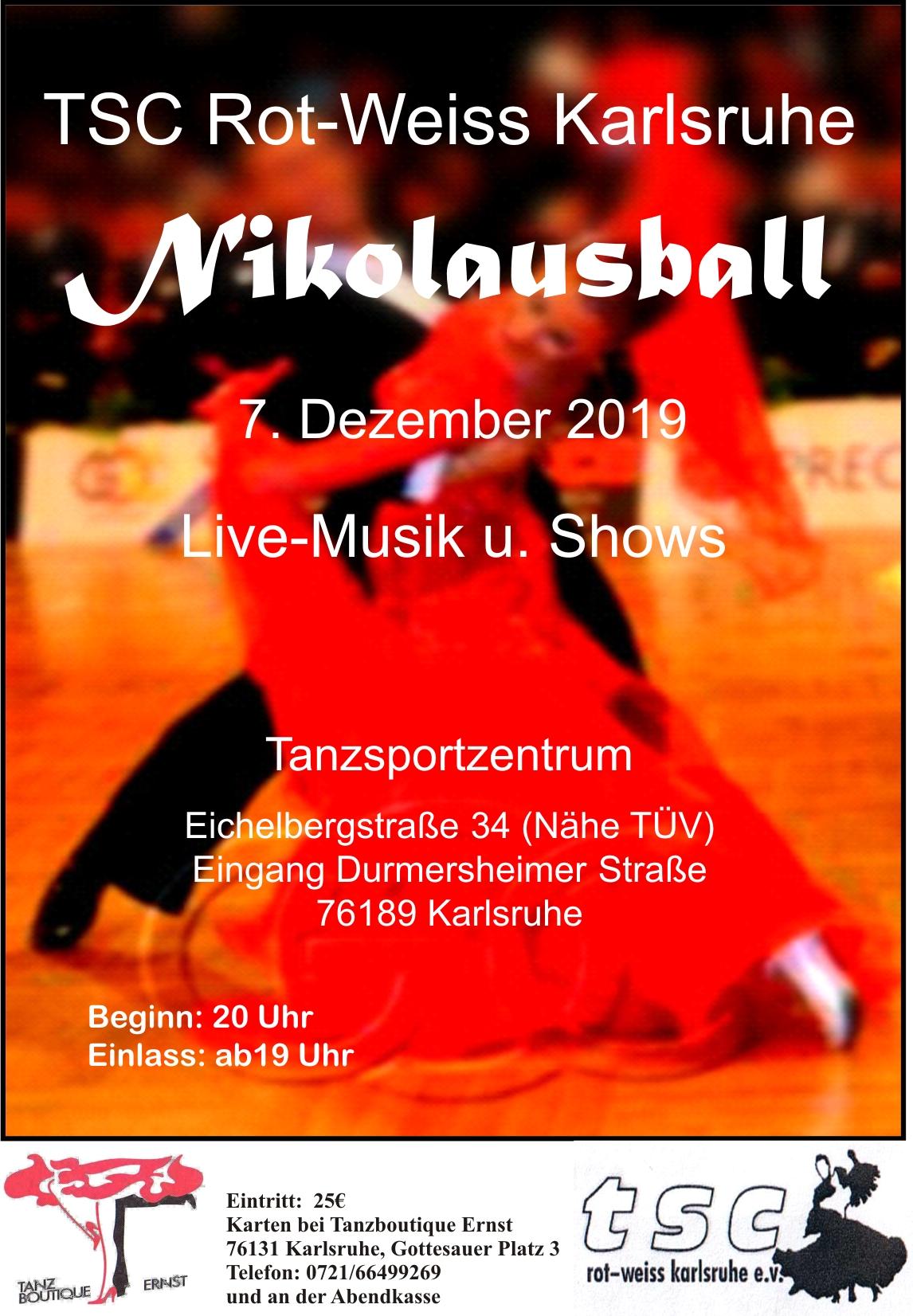 Nikolausball 2019